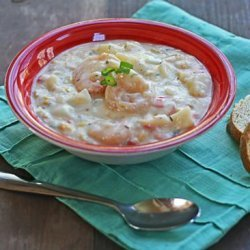 Simply Delicious Shrimp and Corn Chowder recipe