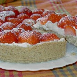 Strawberry Cream Torte recipe
