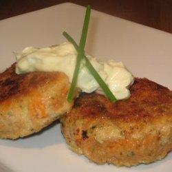 Tuna and Sweet Potato (Kumera) Patties recipe