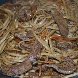 Korean Beef Noodles (Seoul Food) recipe