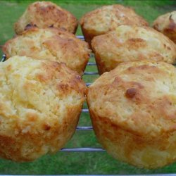 Pineapple and Sour Cream Muffins recipe