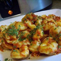 Crock Pot Cheesy Ravioli Casserole recipe