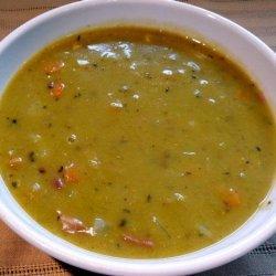 Pressure Cooker Split Pea and Ham Soup recipe