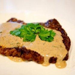 Aussie Pepper Steak / Steak With Creamy Pepper Sauce recipe