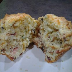 Cheese & Bacon Breakfast Muffins recipe