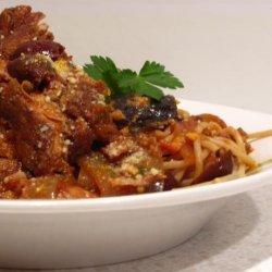 Pork Pot Roast With Eggplant (Aubergine) recipe