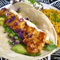 Baja Chipotle Fish Tacos recipe