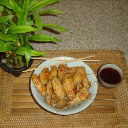 Chicken Wings With Thai Sweet & Hot Chili Glaze recipe