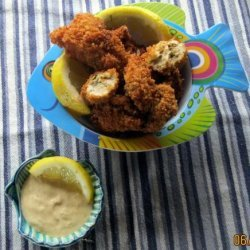 Panko Fried Oysters for Two recipe