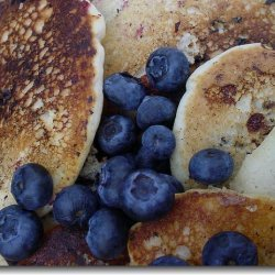 Blueberry Yogurt Pancakes recipe
