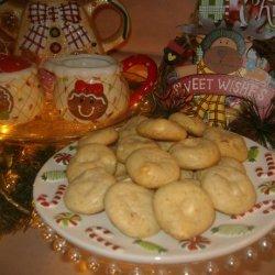 Orange Vanilla Chip Cookies recipe