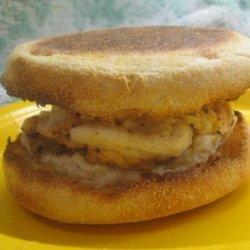 Egg Muffin sandwich recipe