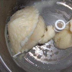 Frozen Fruit Yogurt (for ice cream machine) recipe