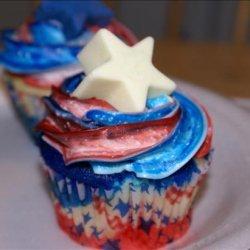 Patriotic 4th of July Cupcakes recipe