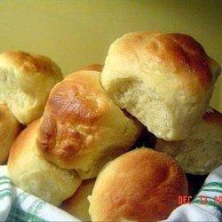 Bread Machine Dinner Rolls recipe