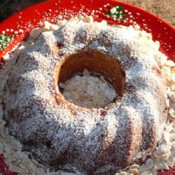 Cranberry Almond Bundt Cake recipe