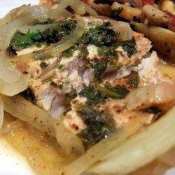 Cod Fish Grilled in Foil recipe