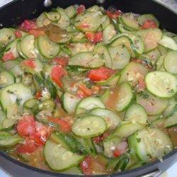 Italian Style Skillet Zucchini recipe