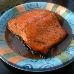 Grilled Glazed Salmon recipe