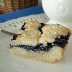 Blueberry Dessert Bars recipe