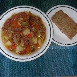 Polish Sausage (Kielbasa)  Soup recipe