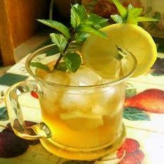 Iced Sweet Mint Tea recipe