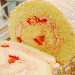 Strawberry Cream Roll recipe
