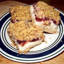 Cranberry Cheese Bars recipe