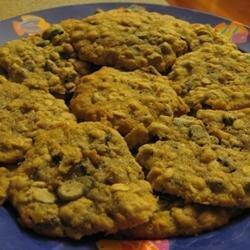 Raisin Oatmeal Cookies recipe