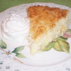 Amazing Coconut Pie recipe