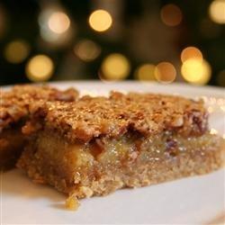 Pecan Pie Bars II recipe