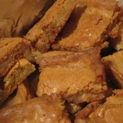 Butterscotch Brownies I recipe