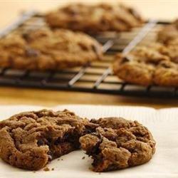 Amena's Triple Chocolate Chip Cookies recipe