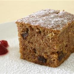 Oatmeal Cake II recipe