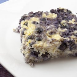 Blueberries n' Cheese Squares recipe