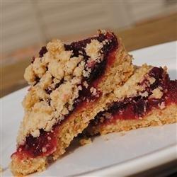 Cranberry Oat Bars recipe