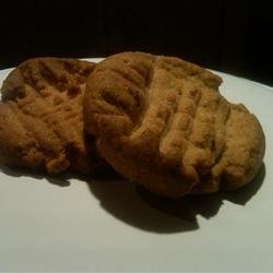 Peanut Butter Cookies I recipe