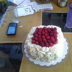 Lemon Raspberry White Chocolate Mousse Cake recipe