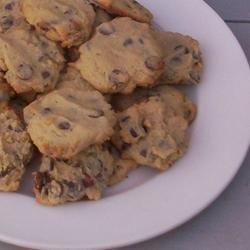 Cream Cheese Chocolate Chip Cookies recipe