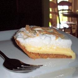 Lemon Icebox Pie I recipe