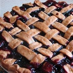 Grandma's Blueberry Pie recipe
