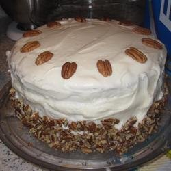 Carol's Butter Pecan Cake recipe