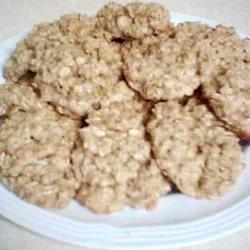 Old Fashioned Oatmeal Cookies III recipe
