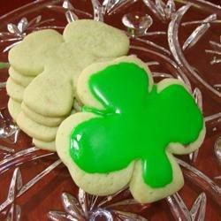 Irish Shamrock Cookies recipe