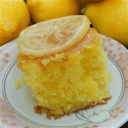 Lemon Lu Lu Cake recipe
