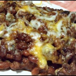 Kittencal's Baked Beans and Ground Beef Casserole recipe