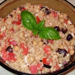 Greek Style Orzo Salad With Balsamic Vinaigrette recipe