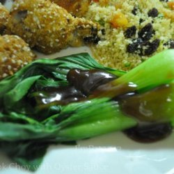 Baby Bok Choy with Oyster Sauce recipe