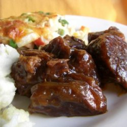 Crock Pot Barbecue Country Ribs recipe