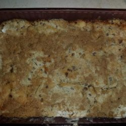 Cake Mix Apple Crisp recipe